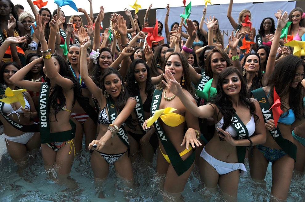 misszemlya2012 4 Горячие участницы конкурса красоты «Мисс Земля 2012» в купальниках