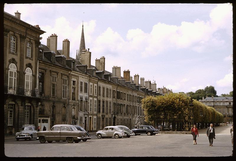Франция 50‑х на цветных слайдах: Романтическое путешествие