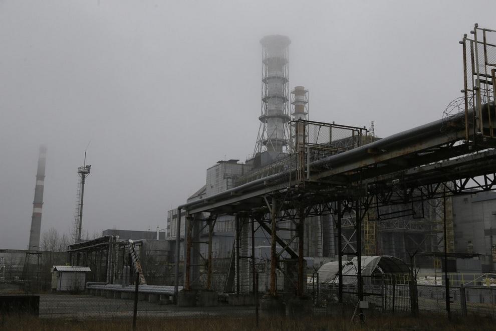 stroitelstvovchernobile 1 Строительство нового саркофага в Чернобыле