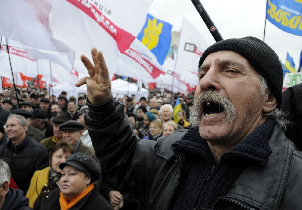 ukraine04 Митинг оппозиции в Киеве