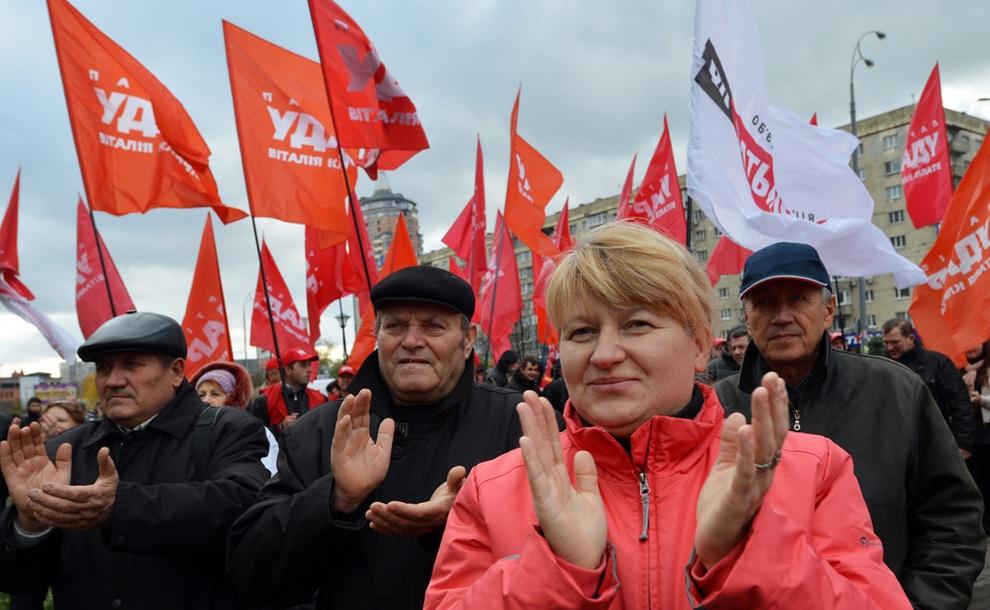 ukraine05 Митинг оппозиции в Киеве