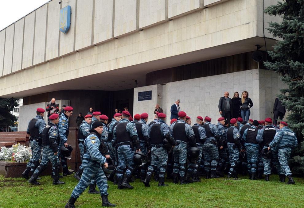 ukraine07 Митинг оппозиции в Киеве