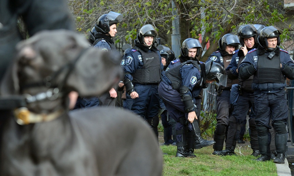 ukraine08 Митинг оппозиции в Киеве
