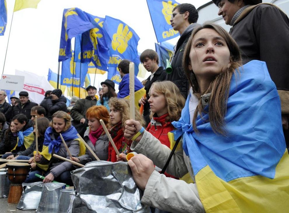 ukraine09 Митинг оппозиции в Киеве