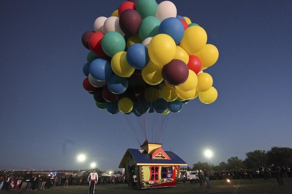 Uphouse 3 вверх на воздушных шарах