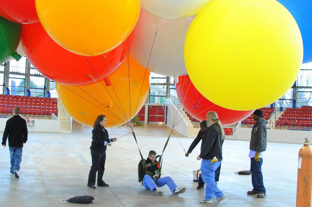uphouse 7 Вверх на воздушных шарах