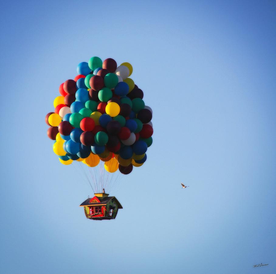 uphouse 9 Вверх на воздушных шарах