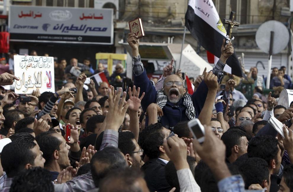 vostanieprotivmuxameda 10 Египетские оппозиционеры восстали против Мухаммеда Мурси