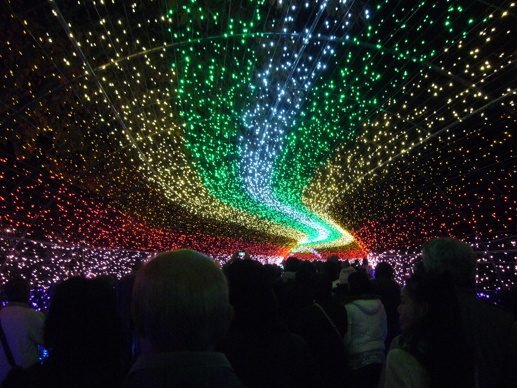 winter light festival japan 9 Зимний фестиваль света в Японии