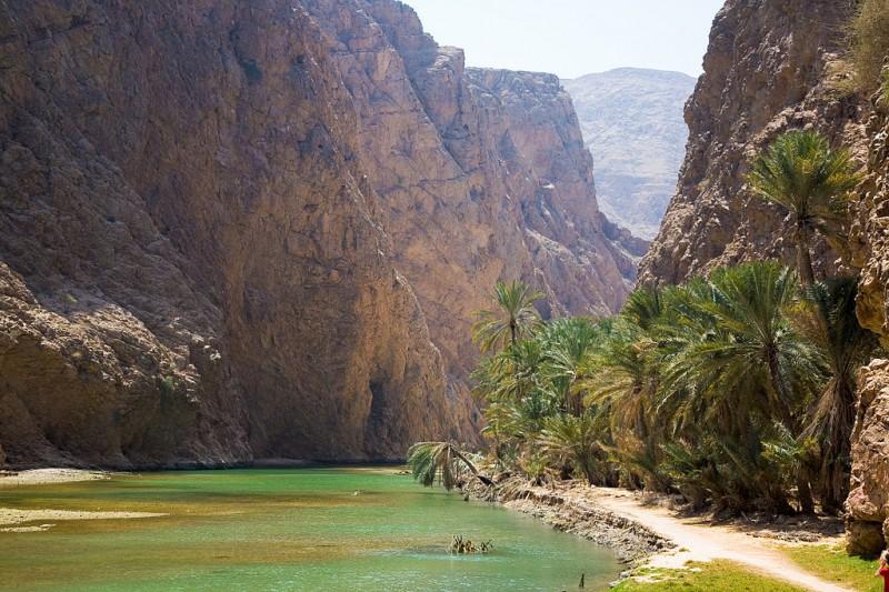 Вади Шааб — райский уголок в оманской пустыне