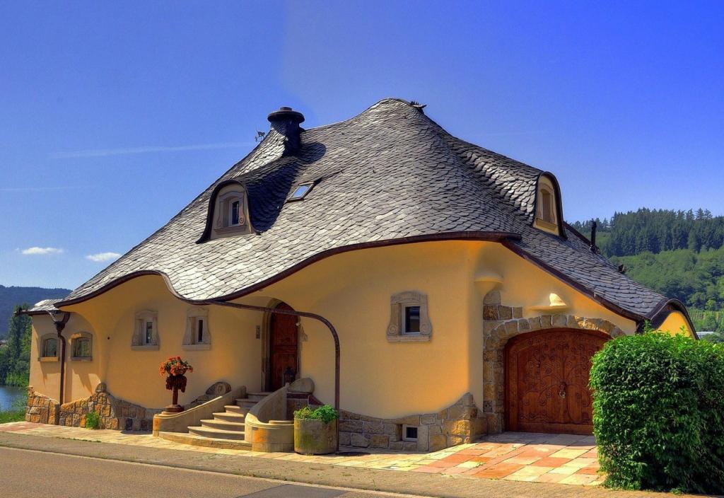 Комментарий на Оригинальный домик в Германии.  Просмотреть все записи в Архитектура.