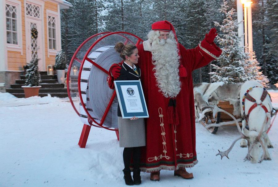 116 MINI едет к Санта Клаусу