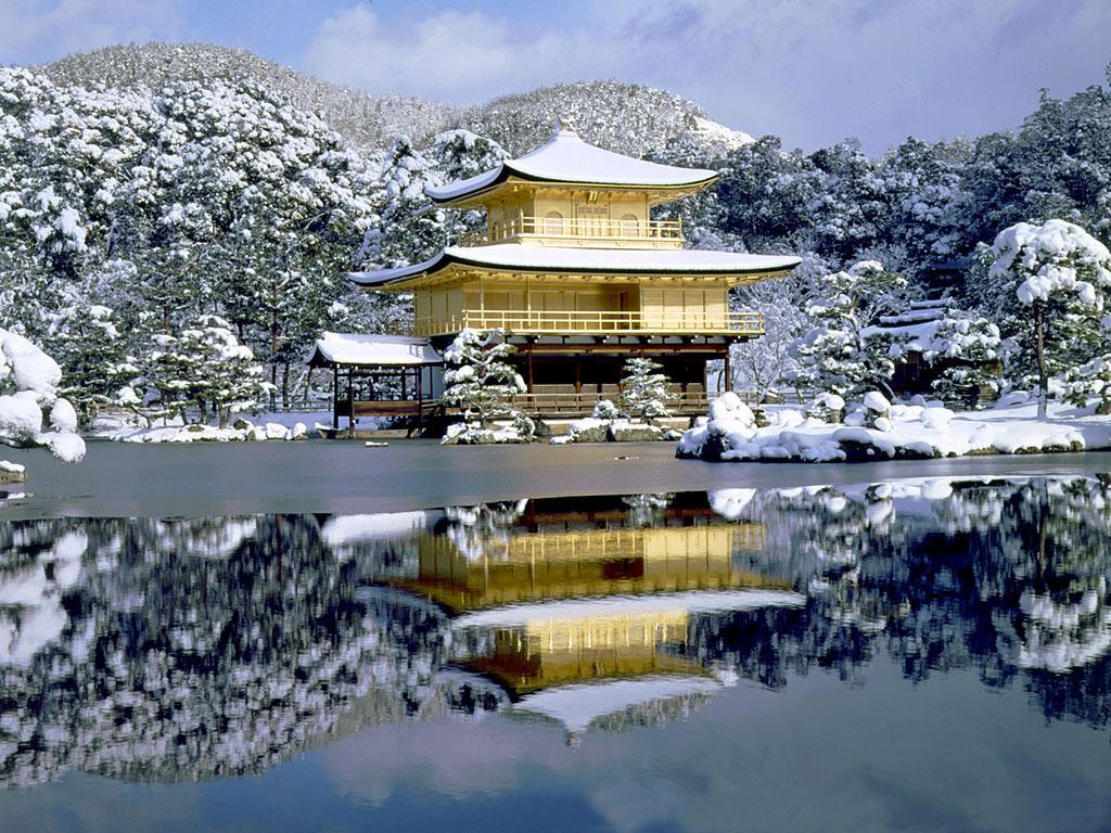 117 Золотой Павильон Кинкаку дзи
