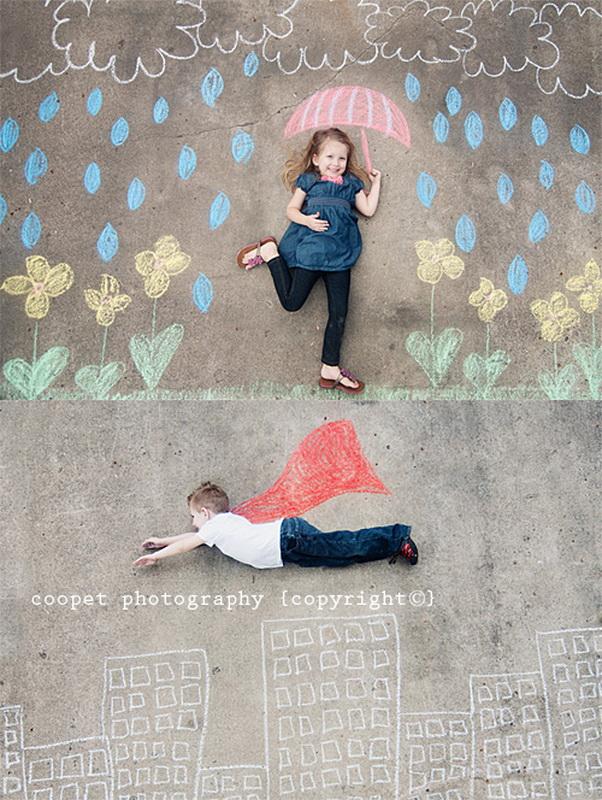 креативные фотосессии людей