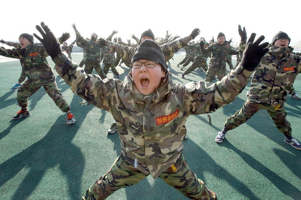 158774116 Суровый детский лагерь в Южной Корее