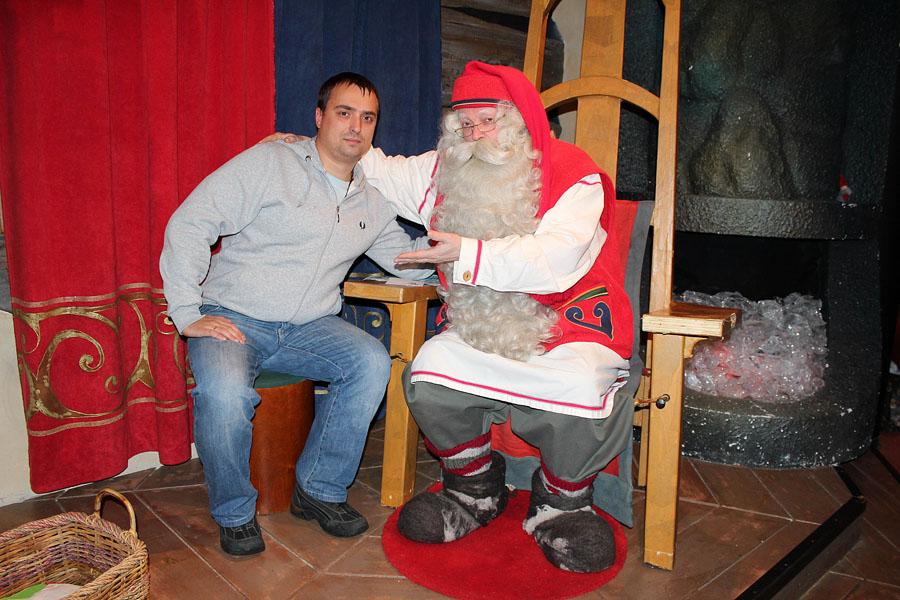 30 MINI едет к Санта Клаусу
