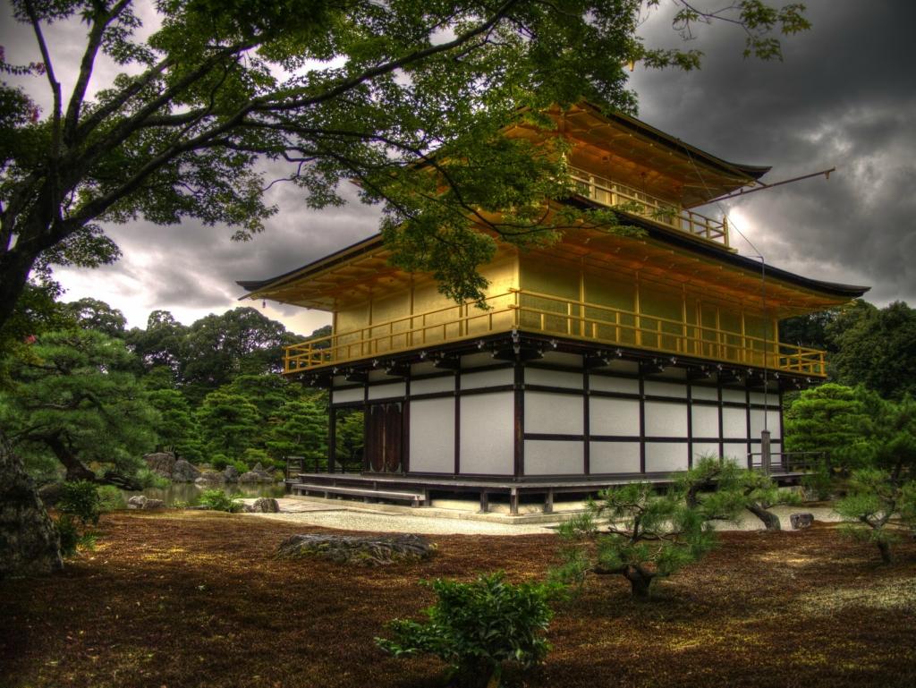 75 Золотой Павильон Кинкаку дзи