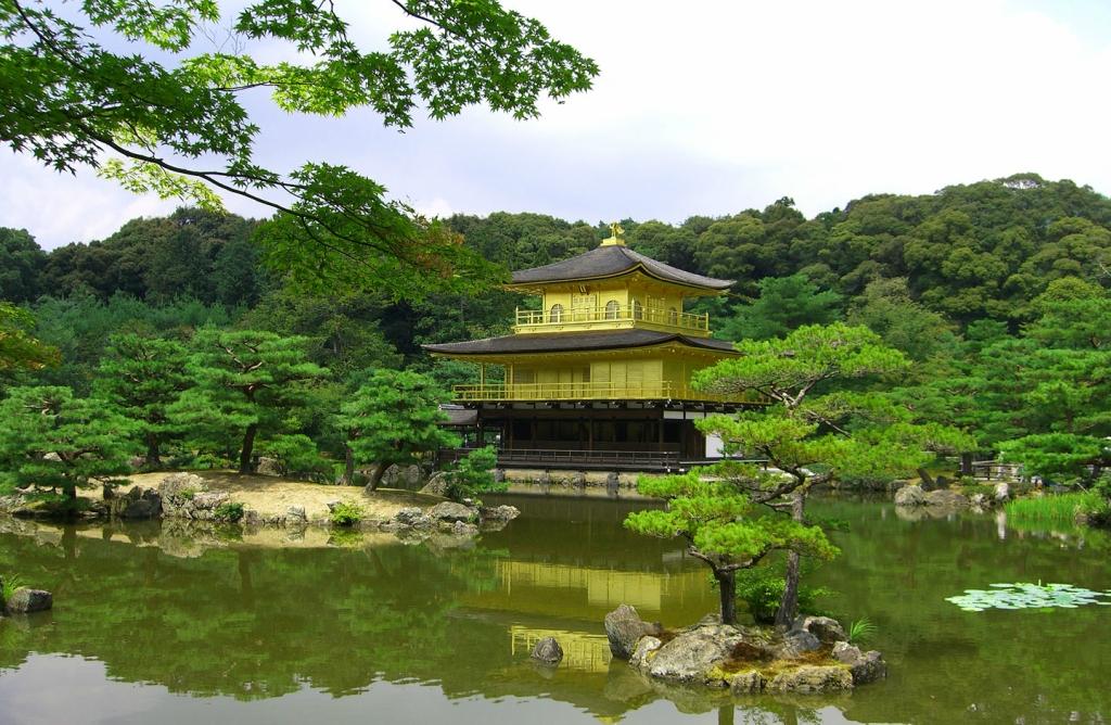 84 Золотой Павильон Кинкаку дзи