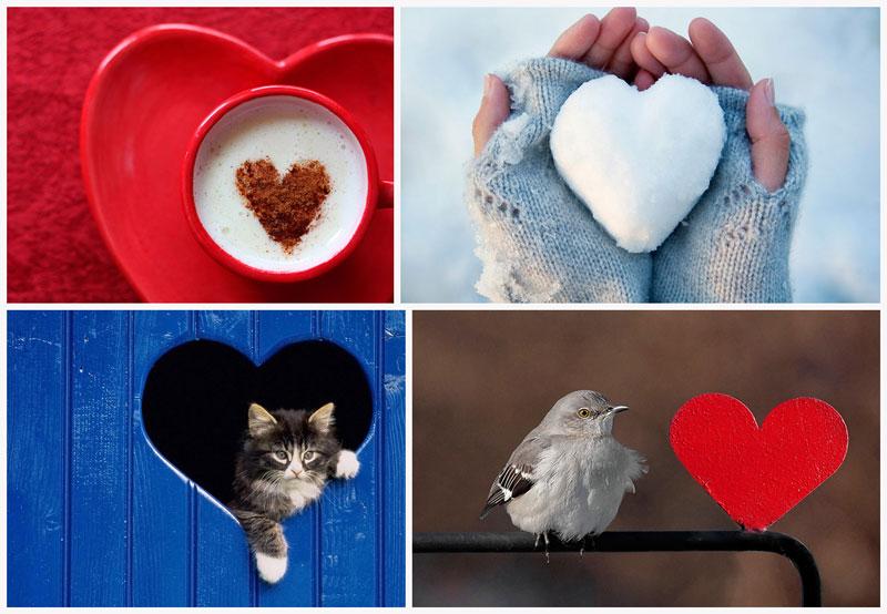 BIGPIC Ко дню Святого Валентина: Сердца, всюду сердца!