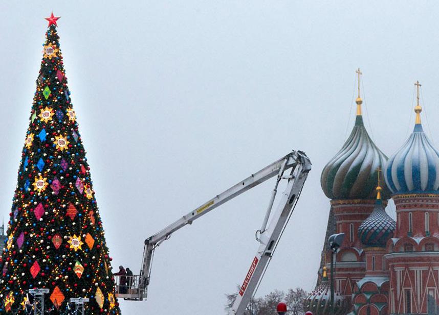 Christmas trees and lights 12 Ёлки и праздничные огни по всему миру