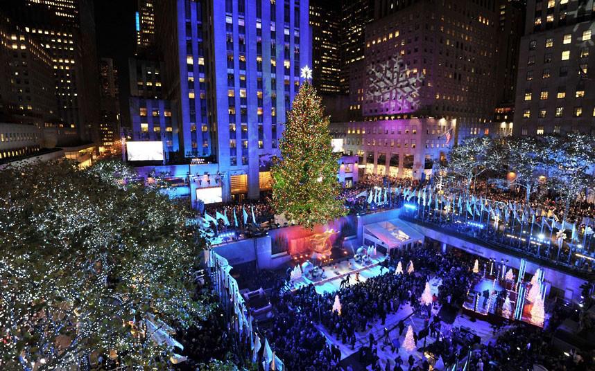 Christmas trees and lights 14 Ёлки и праздничные огни по всему миру