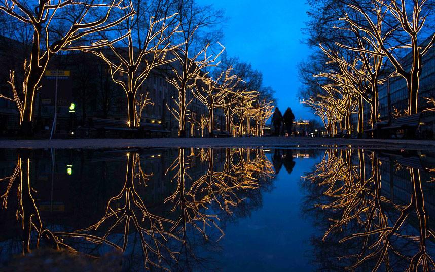 Christmas trees and lights 16 Ёлки и праздничные огни по всему миру