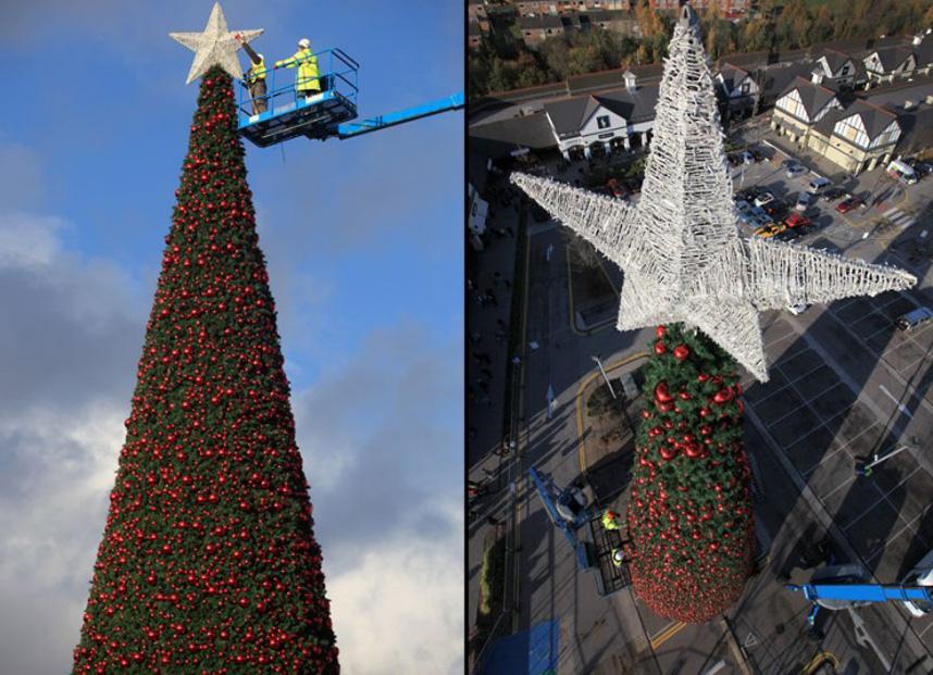 Christmas trees and lights 6 Ёлки и праздничные огни по всему миру