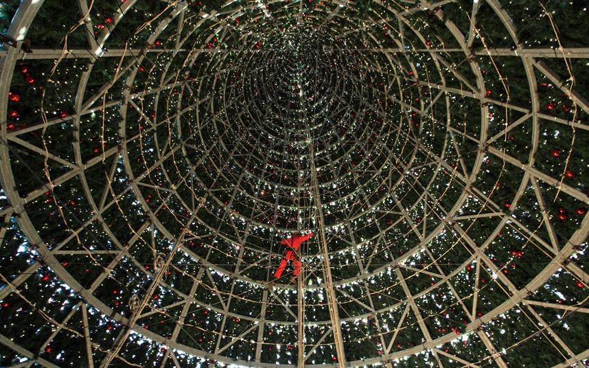 Christmas trees and lights 7 Ёлки и праздничные огни по всему миру