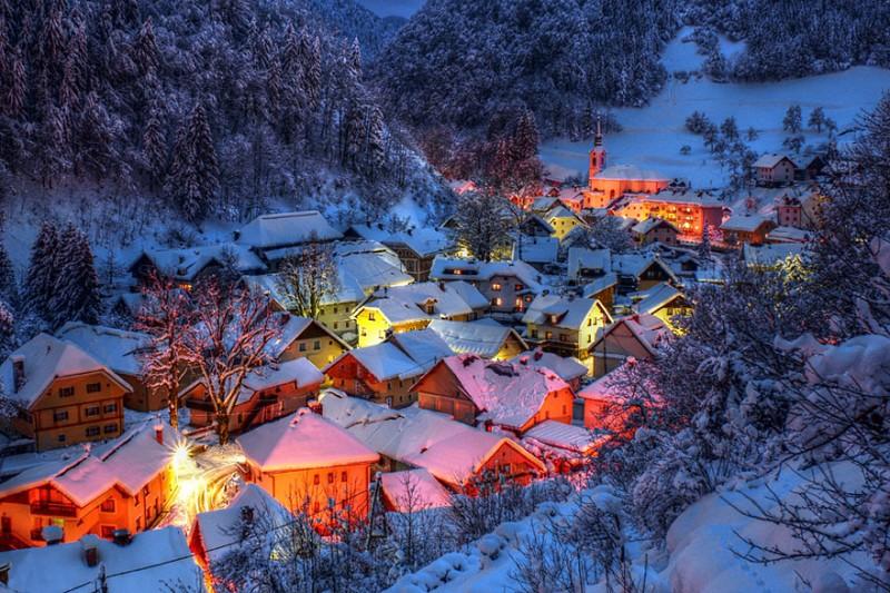 Gorgeous Winter Landscapes 11 800x533 Великолепные снежные пейзажи