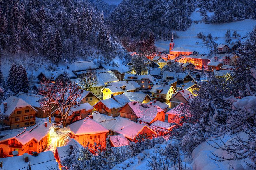 Gorgeous Winter Landscapes 11 Великолепные снежные пейзажи
