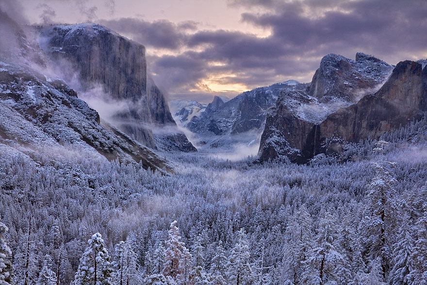NewPix.ru - Потрясающие фотографии зимних пейзажей.