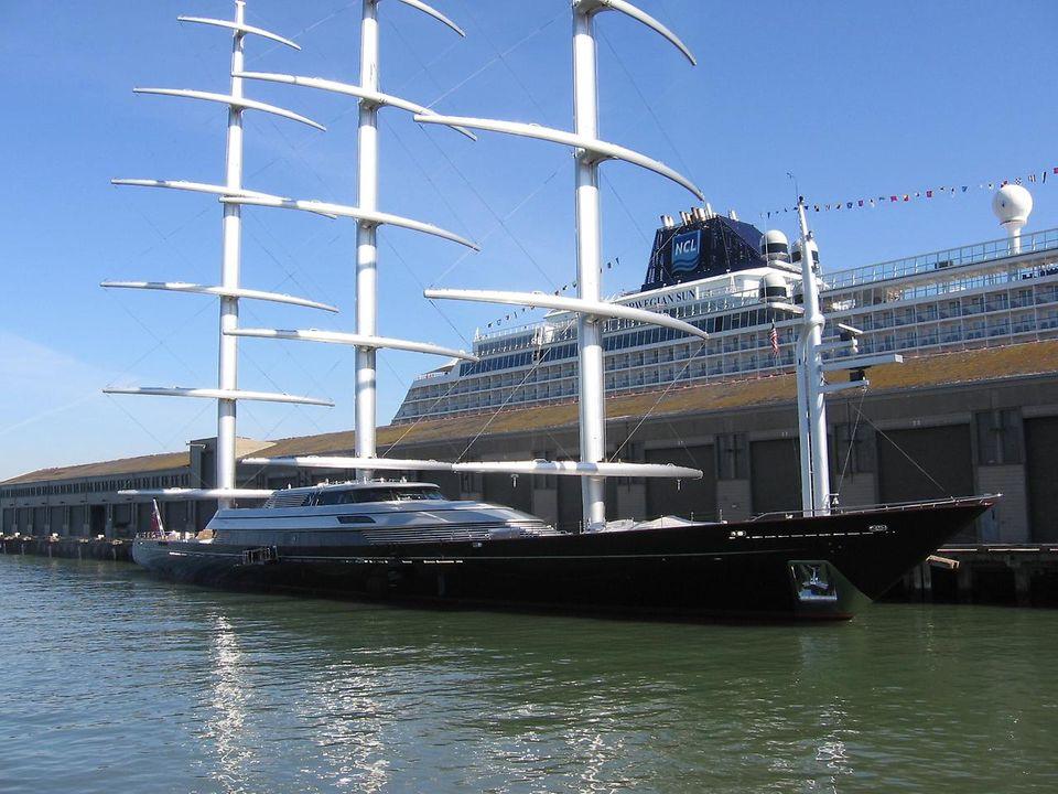 MalteseFalcon01 Мальтийский сокол: Одна из самых больших парусных яхт