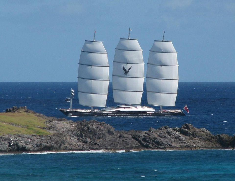 MalteseFalcon03 Мальтийский сокол: Одна из самых больших парусных яхт