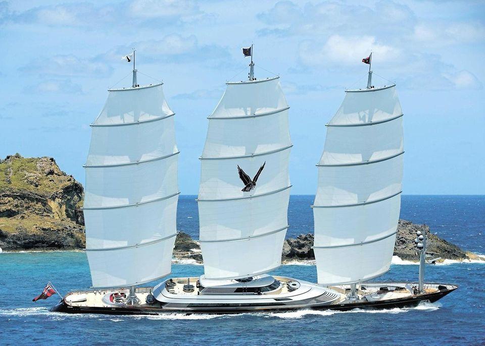 MalteseFalcon04 Мальтийский сокол: Одна из самых больших парусных яхт