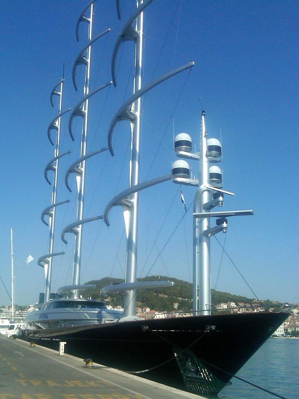MalteseFalcon05 Мальтийский сокол: Одна из самых больших парусных яхт