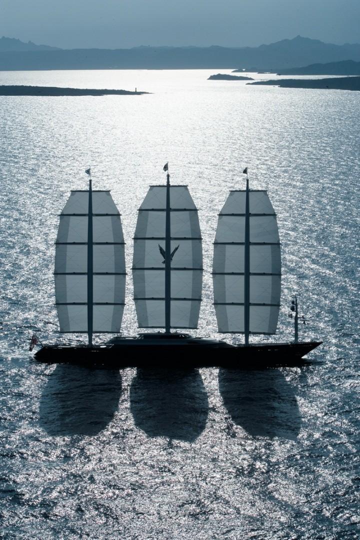 MalteseFalcon06 Мальтийский сокол: Одна из самых больших парусных яхт