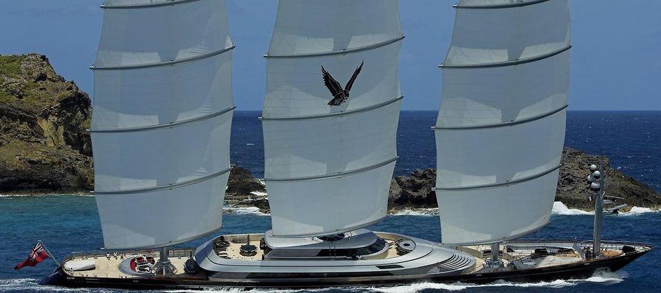MalteseFalcon07 Мальтийский сокол: Одна из самых больших парусных яхт