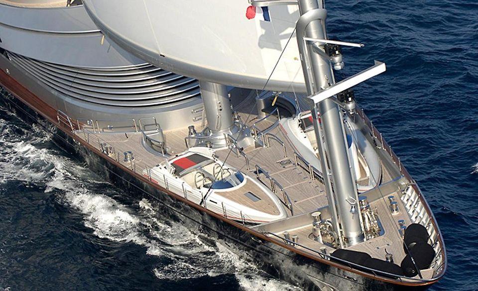 MalteseFalcon08 Мальтийский сокол: Одна из самых больших парусных яхт