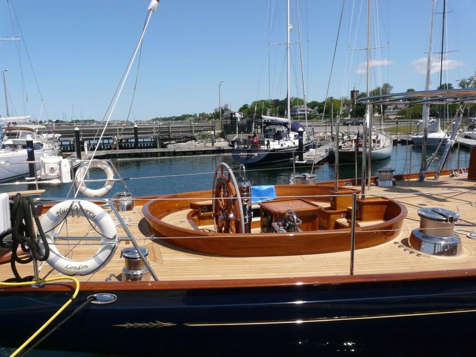 MalteseFalcon09 Мальтийский сокол: Одна из самых больших парусных яхт