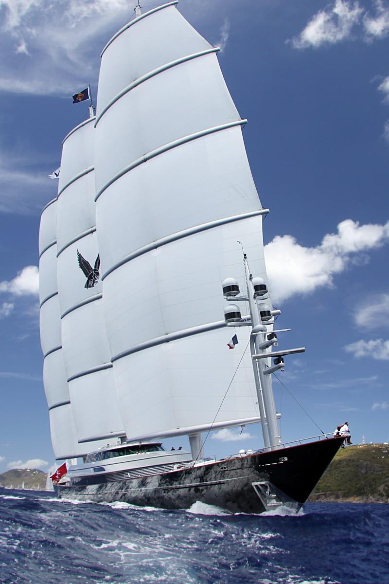 MalteseFalcon11 Мальтийский сокол: Одна из самых больших парусных яхт