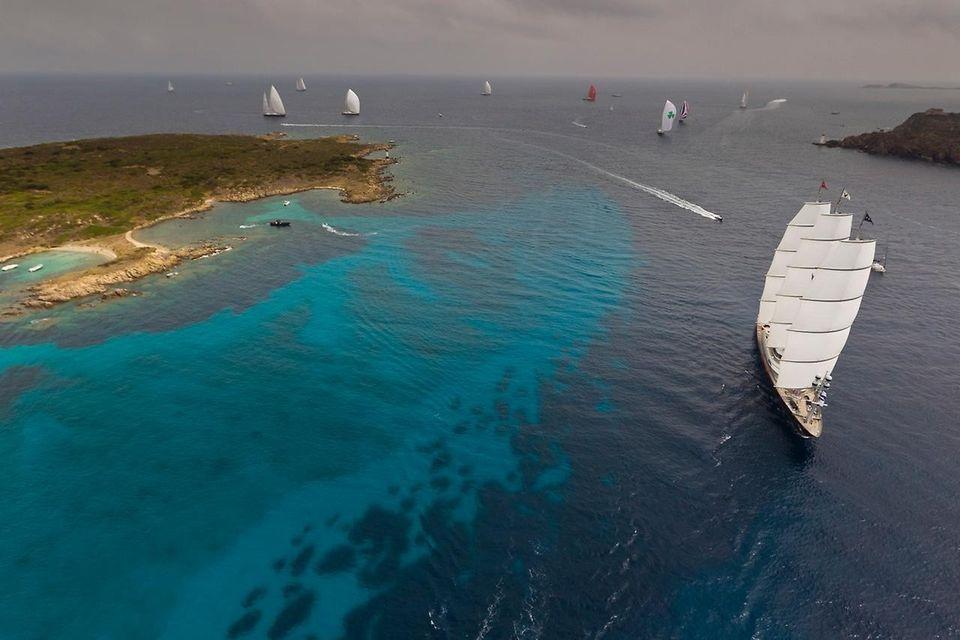 MalteseFalcon12 Мальтийский сокол: Одна из самых больших парусных яхт