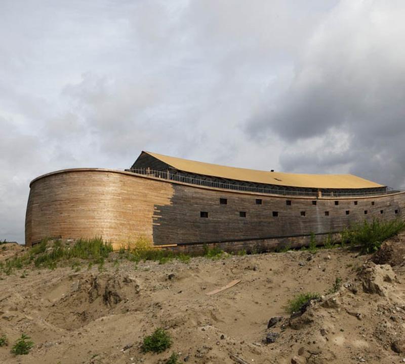 Noevkovcheg 10 В Голландии построен Ноев ковчег в натуральную величину
