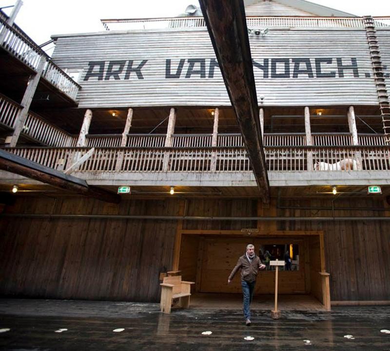 Noevkovcheg 3 В Голландии построен Ноев ковчег в натуральную величину
