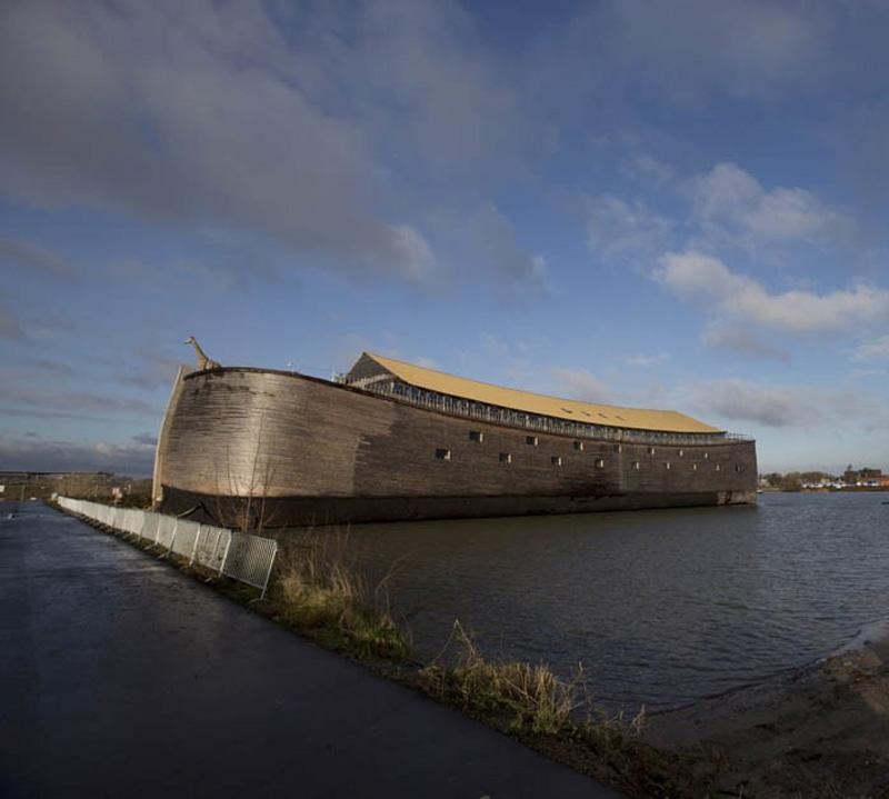 Noevkovcheg 6 В Голландии построен Ноев ковчег в натуральную величину