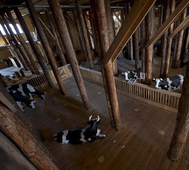 Noevkovcheg 9 В Голландии построен Ноев ковчег в натуральную величину