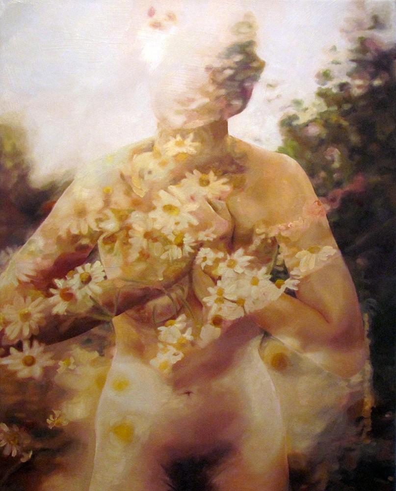Картины косоглазой художницы Пакайлы Рей Бин