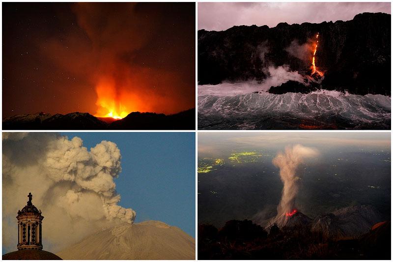Вулканическая активность в 2012 году