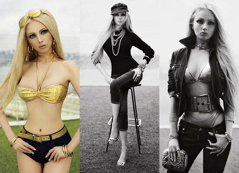 TEMP61 «Одесская Барби» снялась для американского журнала V Magazine
