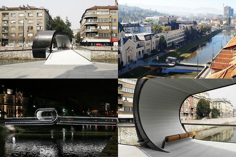 Мост-петля в Сараево