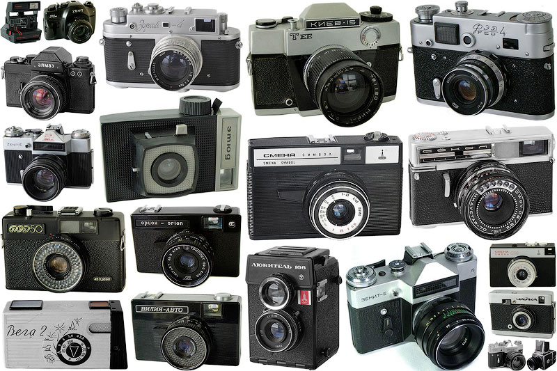 TEMP71 Фотоаппараты СССР